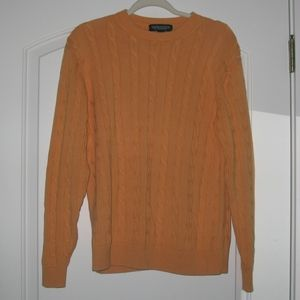 Vintage Roundtree and Yorke Cable Knit Sweater